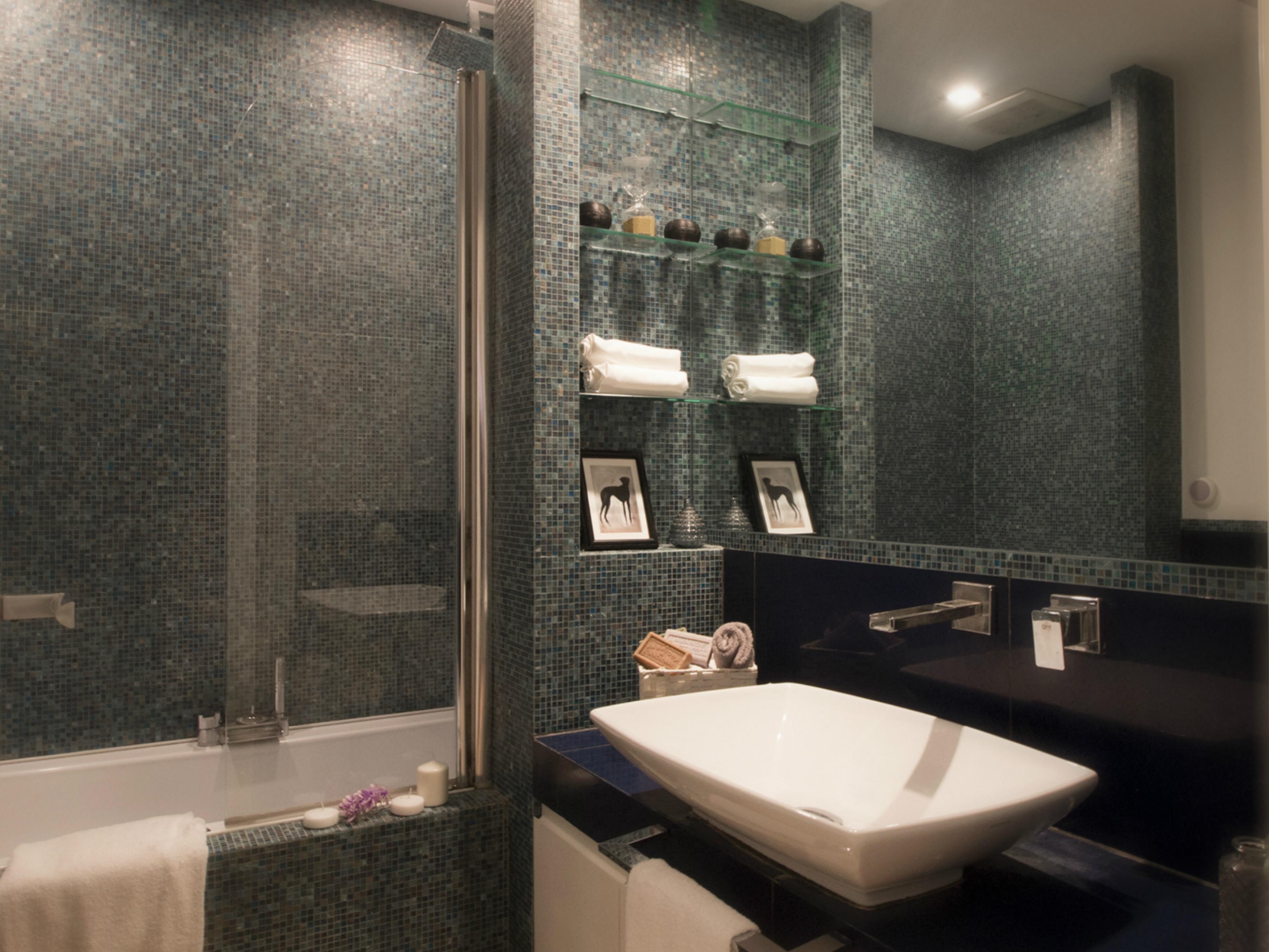 Bagno airbnb dopo l'intervento