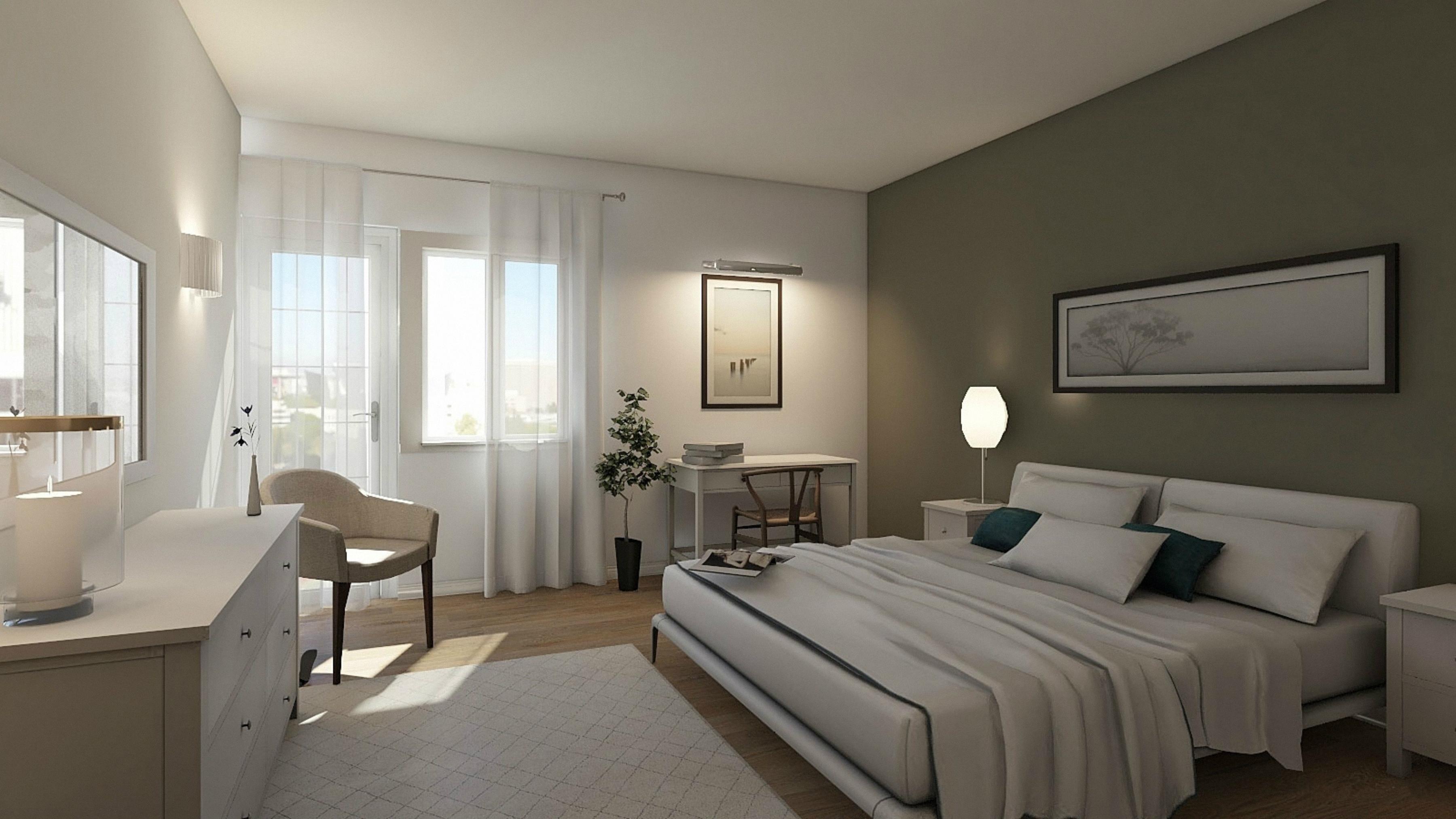 torino – camera da letto dopo l'intervento