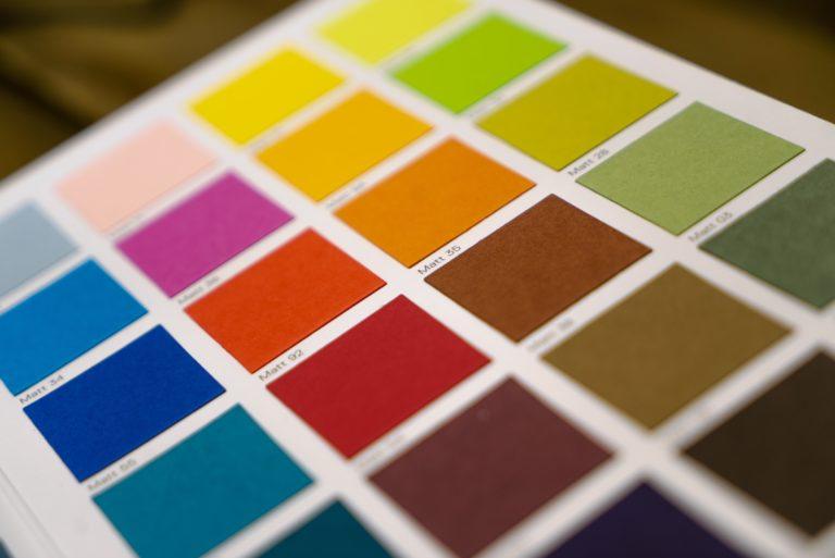 color palette - gruppo colore - diffusione culturale