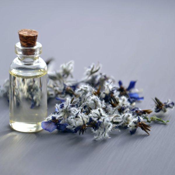 boccetta di profumo con fiori - quale diffusore di profumo scegliere
